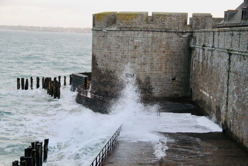 grandes marées à saint malo intra muros